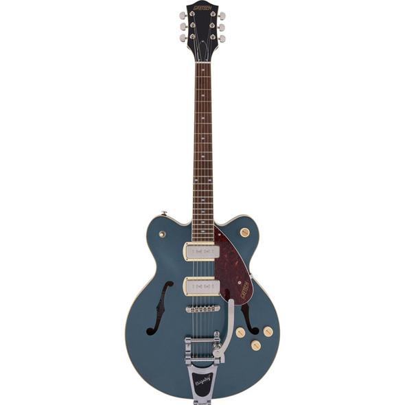 Gretsch G2622T-P90 Streamliner Center Block DC Electric Guitar, Gunmetal