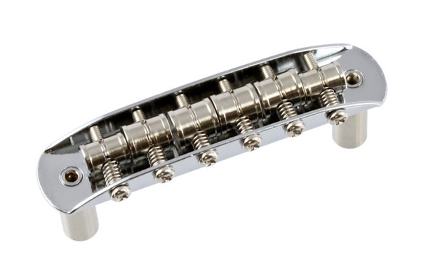 Allparts Bridge for Mustang Guitars, Chrome