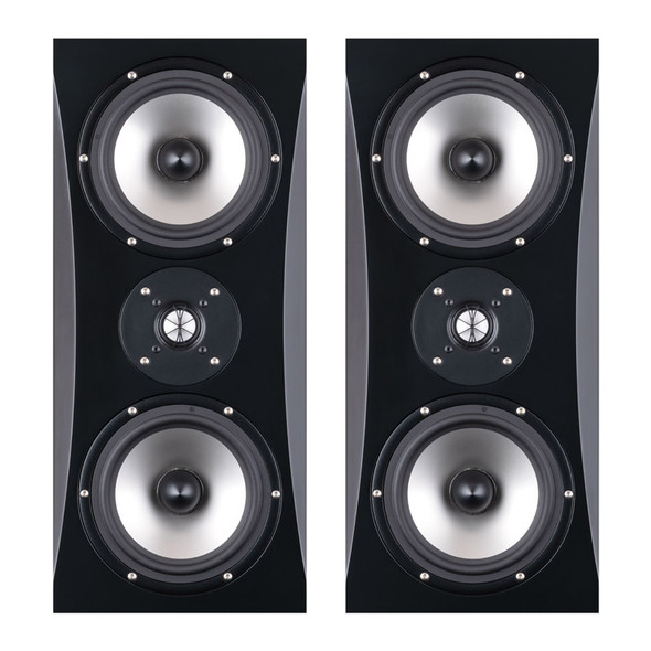 O.S Acoustics DBS8 2-Way Active Studio Monitors, Sealed MTM (Pair)