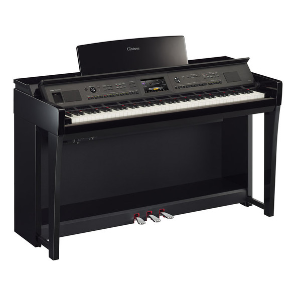 Yamaha CVP-805PE Clavinova Digital Piano, Polished Ebony
