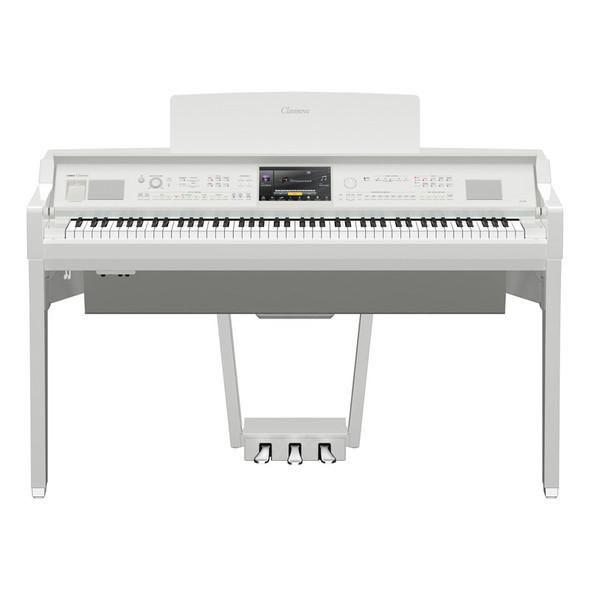 Yamaha CVP-809WH Clavinova Digital Piano, Polished White