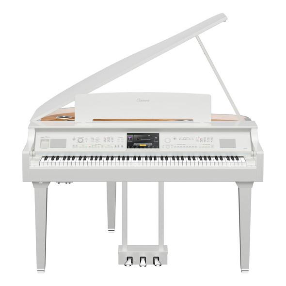 Yamaha CVP-809GPWH Clavinova Digital Grand Piano, Polished White