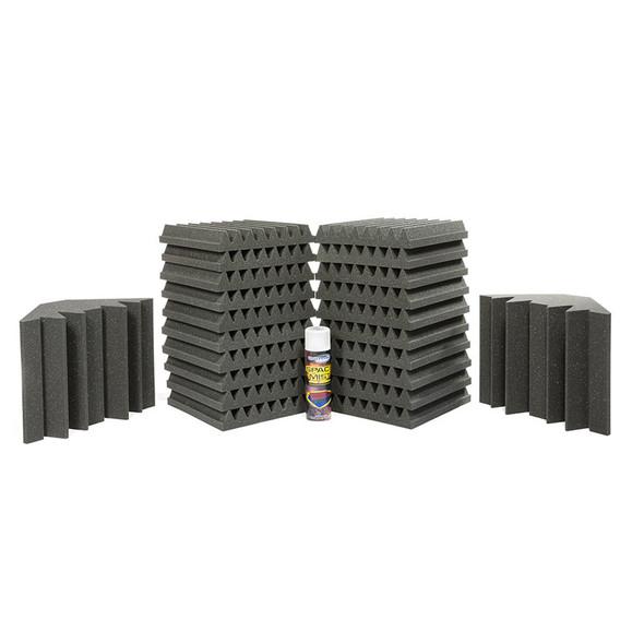 Universal Acoustics Solar System Acoustic Treatment Kit Mercury 1, Charcoal