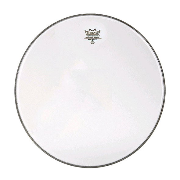 Remo SD-0114-00 Diplomat Hazy 14 Inch Snare Side Head