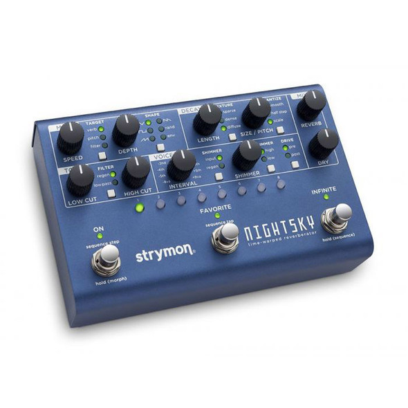 Strymon NightSky Time Warped Reverb Effects Pedal