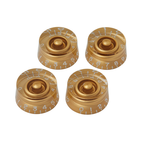 Gibson PRSK-020 Speed Knobs, Gold (Pack of 4)