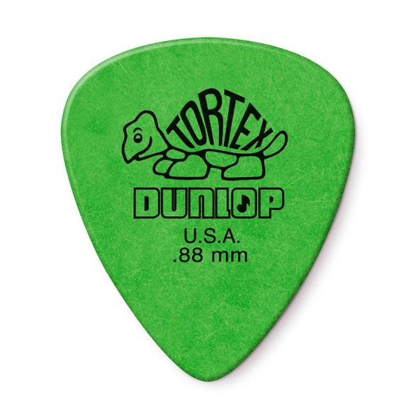 Dunlop Tortex Standard Picks .88mm, Pack of 12
