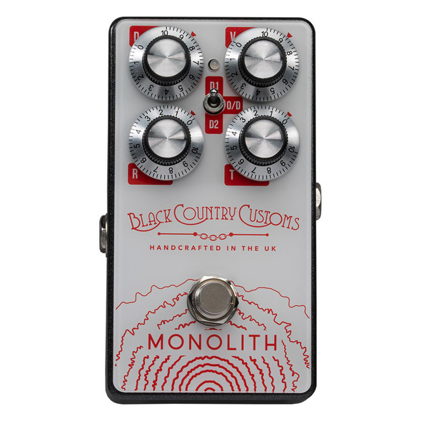 Black Country Customs by Laney Monolith Distortion Effects Pedal