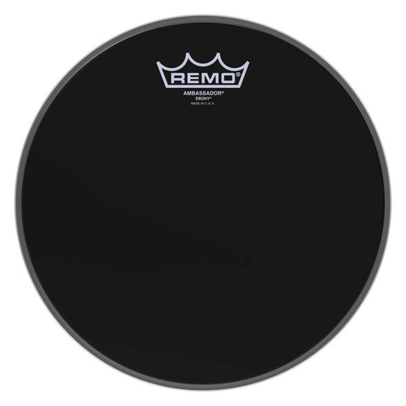 Remo ES-0010-00 Ambassador Ebony 10-inch Drum Head