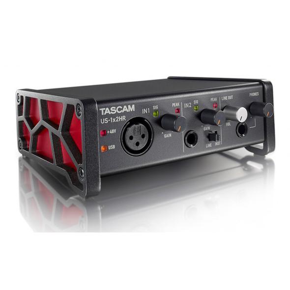 Tascam US-1x2HR USB-C High Resolution Audio Interface