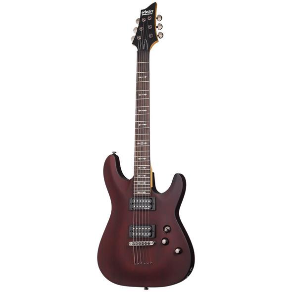 Schecter Omen-6 Electric Guitar, Walnut Satin