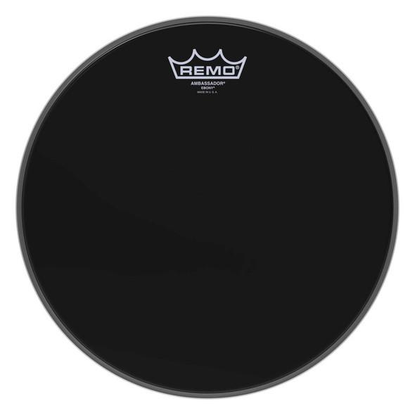 Remo ES-0012-00 Ambassador Ebony 12-inch Drum Head
