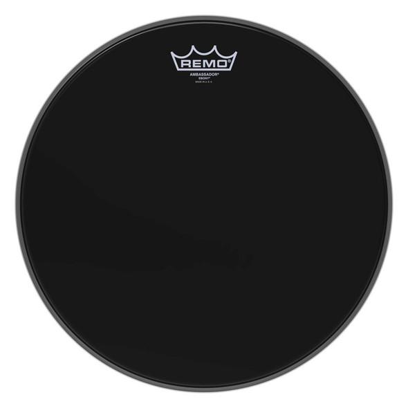 Remo ES-0014-00 Ambassador Ebony 14-inch Drum Head