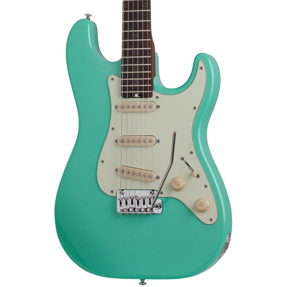 Schecter Nick Johnston Traditional SSS Electric Guitar, Atomic Green