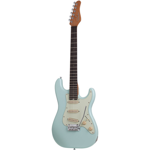 Schecter Nick Johnston Traditional SSS Electric Guitar, Atomic Frost