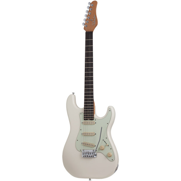 Schecter Nick Johnston Traditional SSS Electric Guitar, Atomic Snow