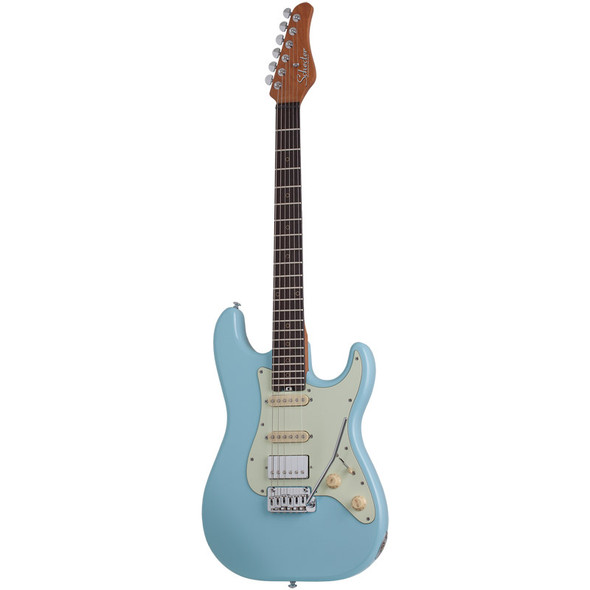Schecter Nick Johnston Traditional HSS Electric Guitar, Atomic Frost
