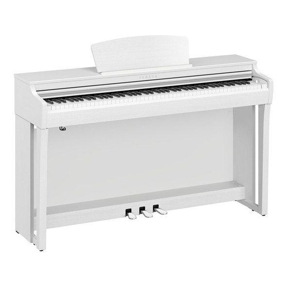 Yamaha CLP-725 Clavinova Digital Piano, White