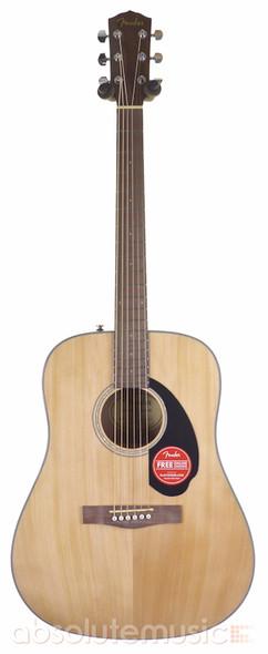 Fender CD-60S Dreadnought Acoustic Guitar, Natural  (b-stock)