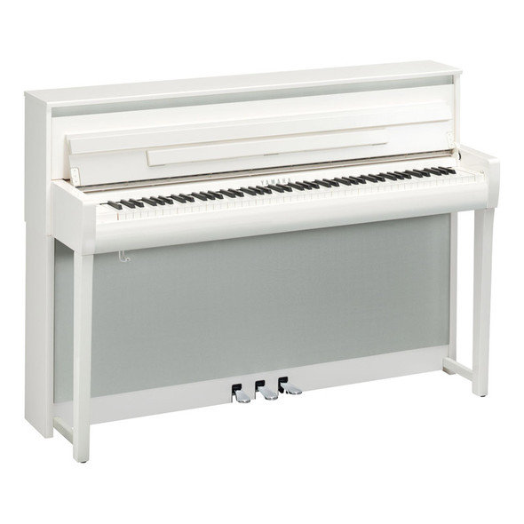 Yamaha CLP-785PWH Clavinova Digital Piano, Polished White