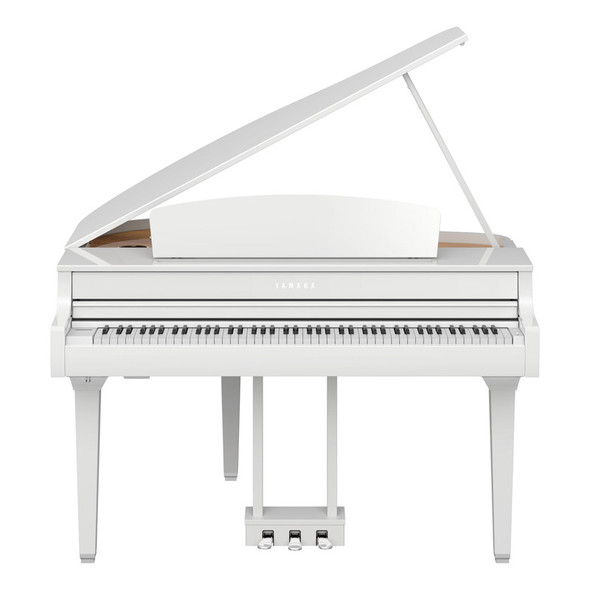 Yamaha CLP-795GPPW Clavinova Digital Grand Piano, Polished White