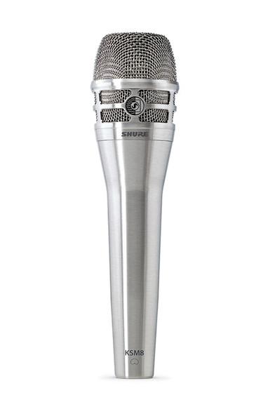 Shure KSM8 Dualdyne Handheld Dynamic Vocal Microphone, Nickel Finish (ex-display, no box)