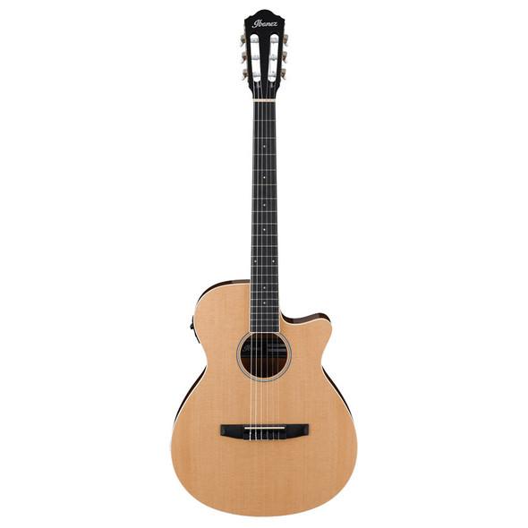 Ibanez AEG7TN-NT Electro-Acoustic Classical Guitar, Natural High Gloss