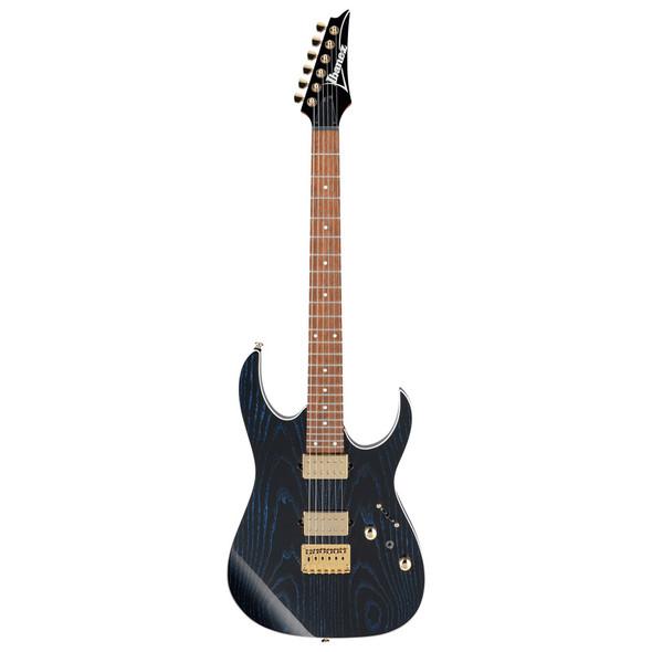 Ibanez RG Standard RG421HPAH-BWB Electric Guitar, Blue Wave Black
