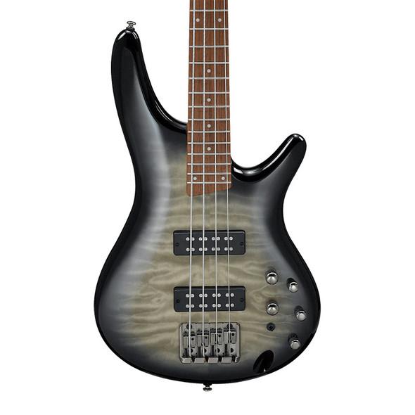 Ibanez SR Standard SR400EQM-SKG Bass Guitar, Surreal Black Burst Gloss