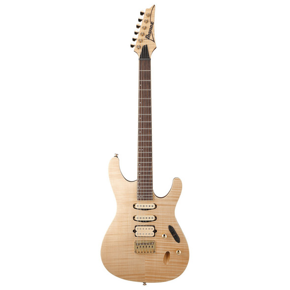 Ibanez S Standard SEW761FM-NTF Electric Guitar, Natural Flat