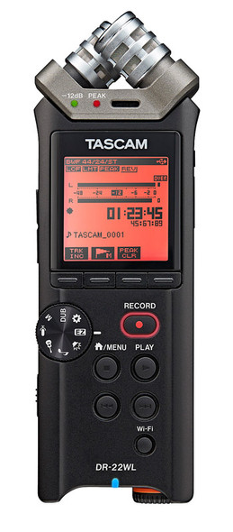 Tascam DR22-WL Compact Digital Recorder with WiFi