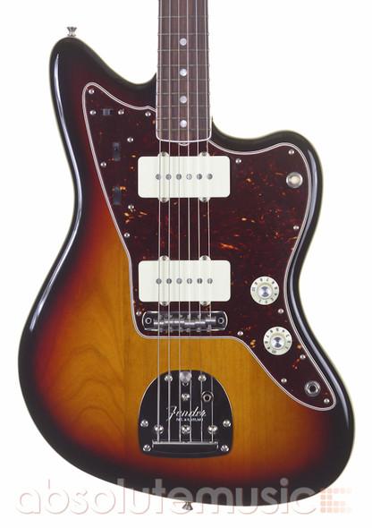 Fender American Original 60s Jazzmaster Electric Guitar, Sunburst with Hard Case (pre-owned)