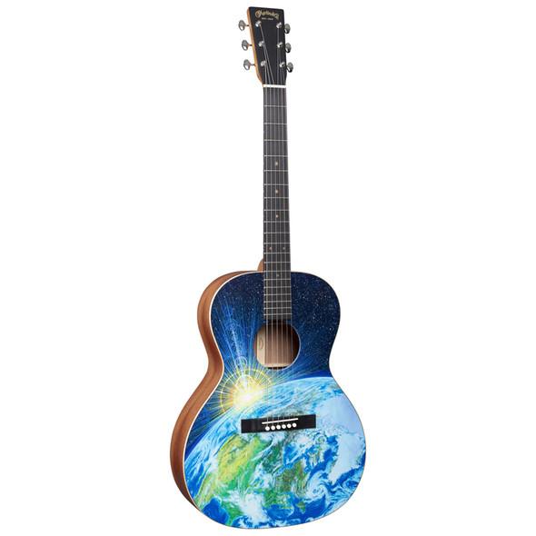 Martin 00L Earth Acoustic Guitar - FSC Certified Wood, Robert Goetzl Artwork