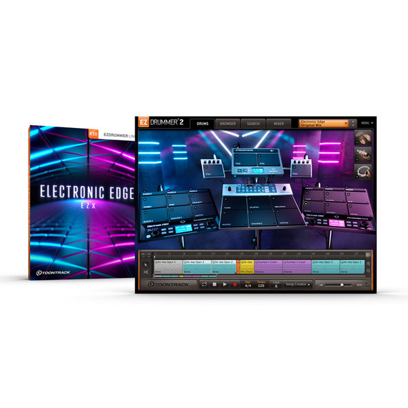 Toontrack EZX Electronic Edge (Serial Download)