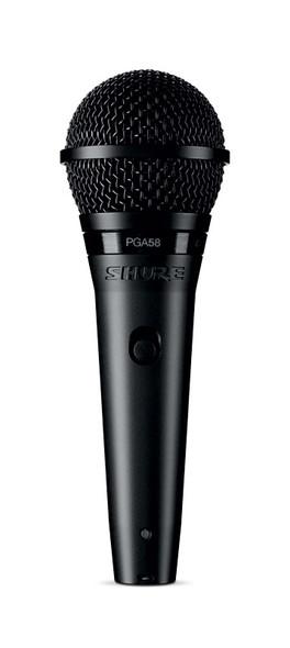 Shure PGA58-XLR Dynamic Vocal Microphone with XLR/XLR Cable  (ex-display)