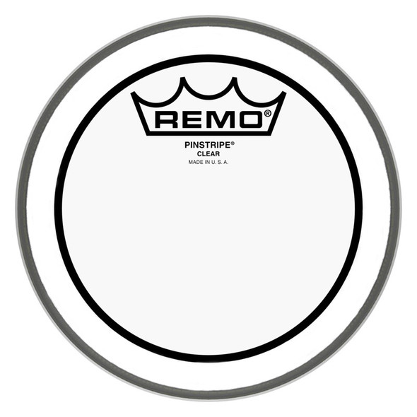 Remo PS-0306-00 Pinstripe Clear 6-inch Drum Head