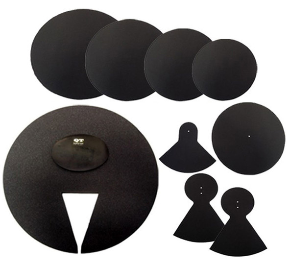 QT Silencer Pads, Boxed Set, 22 Inch American Fusion