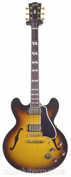 Gibson Custom Shop ES-345 Electric Guitar, Vintage Sunburst with Hard Case (pre-owned)