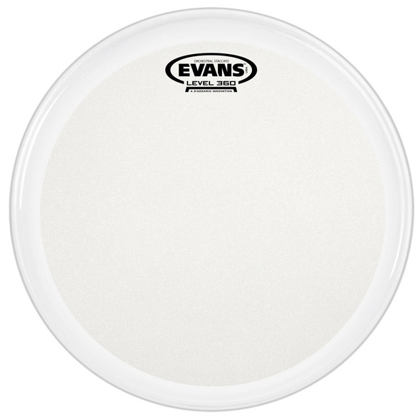 Evans B14GCSS Evans Orchestral Stacatto Coated White 14 Inch Snare Drum Head