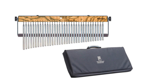 TreeWorks Fullsize 34-Bar Chime with Damper and Deluxe Bag