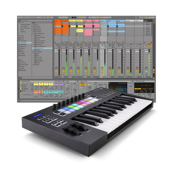 Ableton Live 11 Standard with Novation Launchkey 25 Mk3 Bundle
