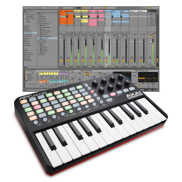 Ableton Live 11 Standard with Akai Professional APC Key 25 Bundle