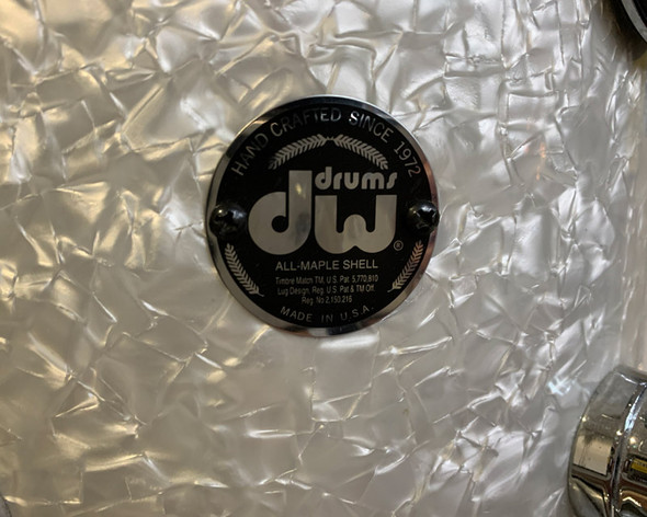 DW Collectors Series 24 Inch Shell Pack in White Marine Pearl (pre-owned)