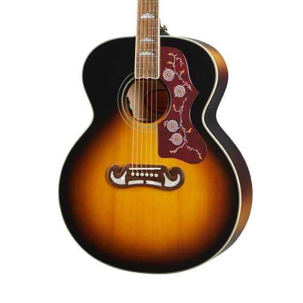 Epiphone Masterbuilt J-200 Electro-Acoustric Guitar, Aged Vintage Sunburst Gloss