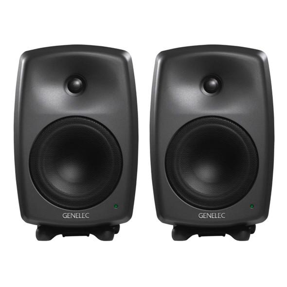 Genelec 8040B Active Studio Monitors, Dark Grey (Pair)
