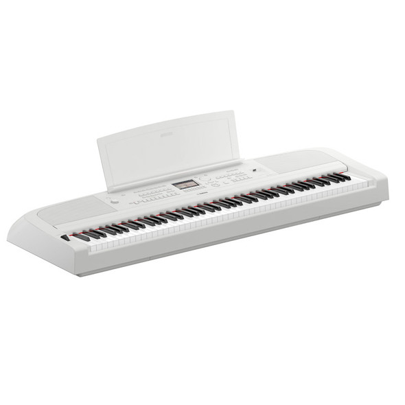 Yamaha DGX-670 Digital Piano, White