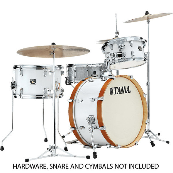 Tama Superstar Classic Neo-Mod 3pc Shell Pack, White Smoke