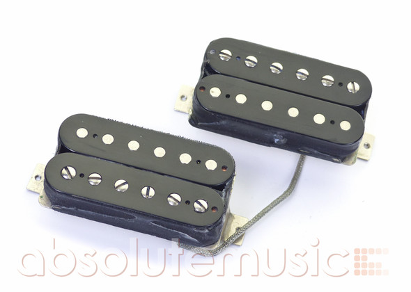 Gibson Humbucker Pickups Set, Open Black (pre-owned)