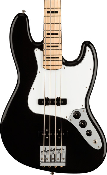 Fender Geddy Lee Jazz Bass, Black, Maple Neck  (ex-display)