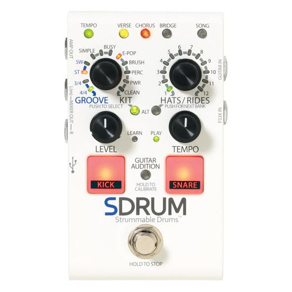 DigiTech SDRUM Drum Machine for Guitarists/Bassists (ex-display)